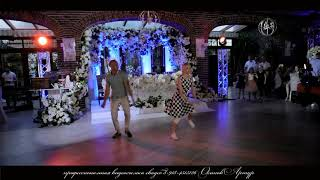Танец отца и дочери на свадьба в современном стиле. Армавир