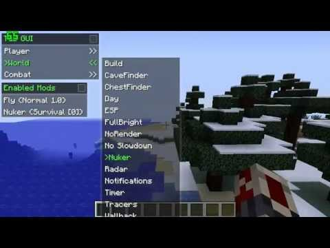 how to make a hacked client minecraft 1.8