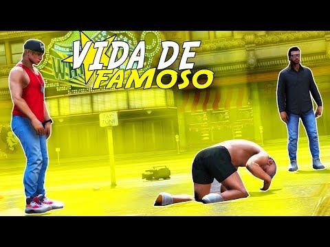 GTA 5: VIDA DE FAMOSO - DEI O TROCO E PEDI DESCULPAS AO CRIS! - #78
