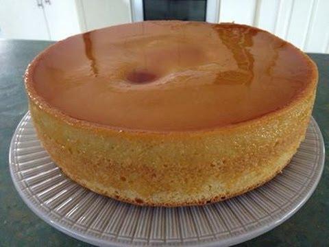 Custard Cake - YouTube