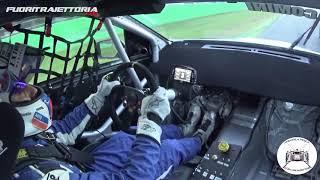 Cosa dice un pilota quando rompe - Onboard Stefano Comini Gara 2 TCR Italia Monza