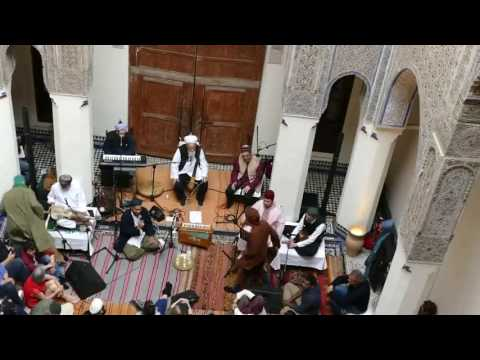 Shaykh Hassan Dyck & Muhabbat Caravan, 22nd Fes Festival of World Sacred Music 2016, Morocco