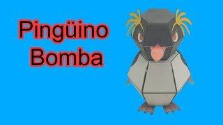 Cómo Hacer Pingüino Bomba, Origami Pop-up, De Nakamura Pinguim Explosivo! Sagaz Perenne