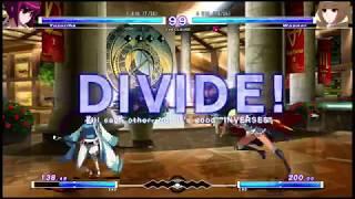 Casuals @ Super TSB   Teitoku Touma (Yuzuriha) vs Redblade (Wagner) FT3