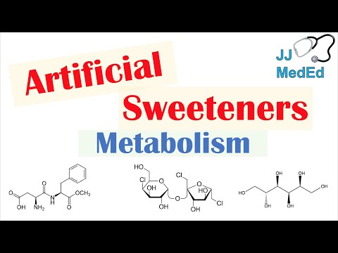 Absorption and Metabolism of Sugar Substitutes (Artificial Sweeteners) | Aspartame, Sucralose, Etc.