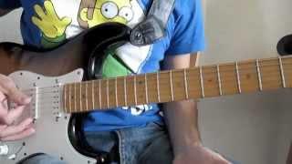 """Heroes Del Silencio """"Entre Dos Tierras (Solo)"""" Tutorial de Guitarra por: David Lambo"""