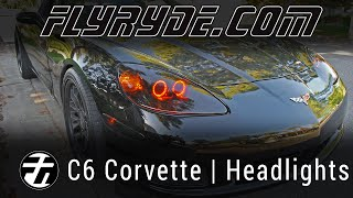 Chevy C6 Corvette Angel Eyes - Switchback LED