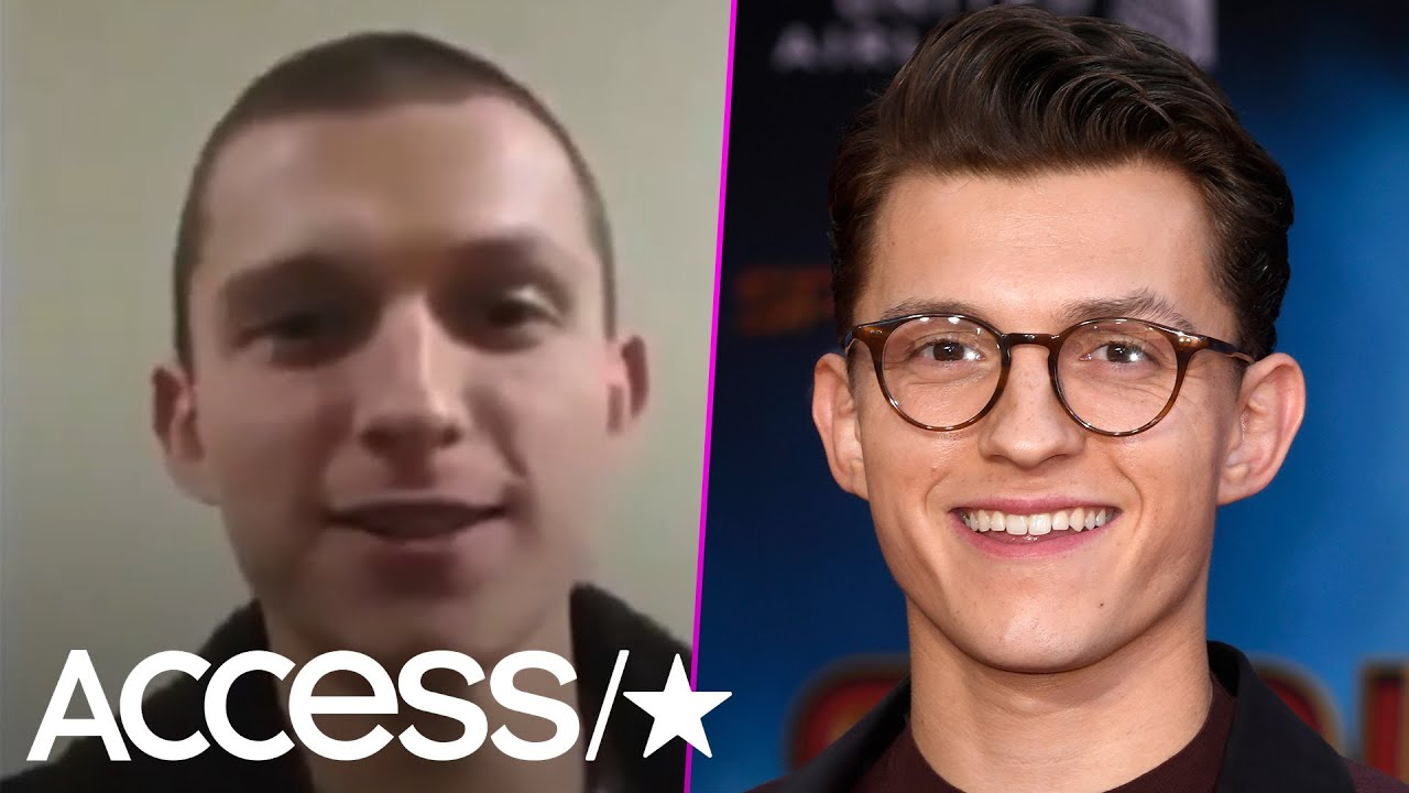 Tom Holland Shaves His Head Sparking Fans To Compare Him To Eminem, Justin Timberlake And More