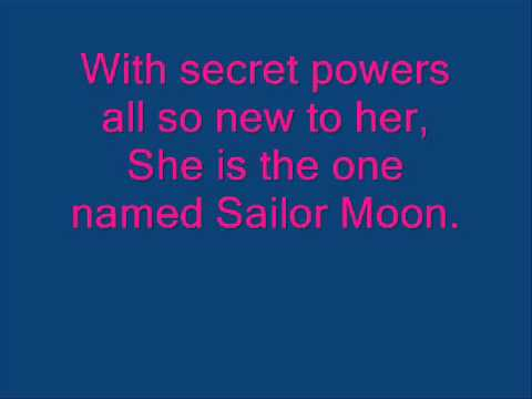 Sailor Moon Theme (English) Lyrics