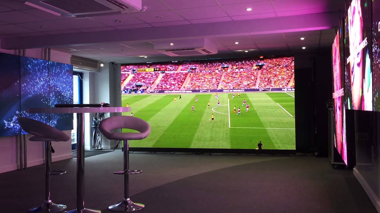 Absen A3 Pro Hd Led Display Supersize Football Screen
