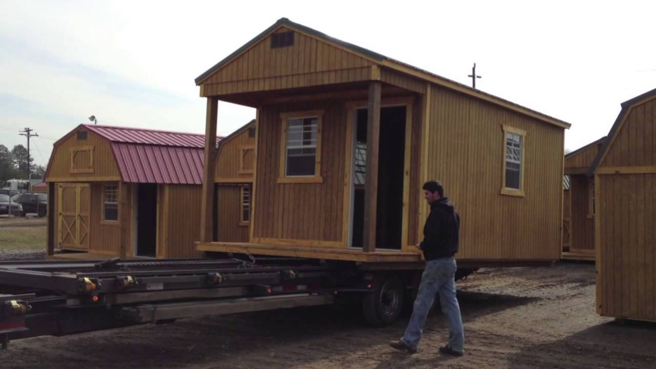 Old Hickory Buildings Delivery Trailer Youtube