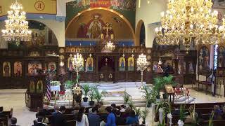 Palm Sunday at St. Demetrios in Merrick - 2018