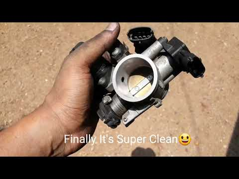 KTM RC 200 THROTTLE BODY CLEANING#DIY
