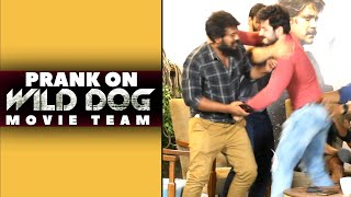 Prank On Wild Dog Movie Team | Telugu Pranks | Pranks in Hyderabad 2021 | FunPataka