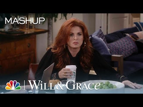 WAIT, WHAT?! Spit Takes Galore! - Will & Grace (Mashup)