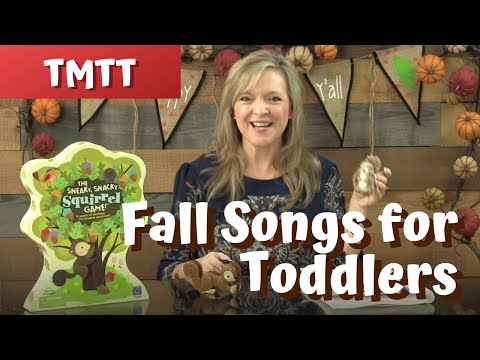 Brown Squirrel...Fall Songs for Toddlers...Therapy Tip of the Week 11.11.17
