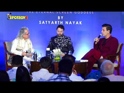UNCUT- Karan Johar Launches A Book On Late Actress Sridevi | SpotboyE