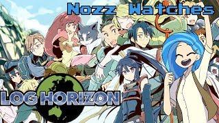 Nozz Watches Log Horizon [Episode 6]