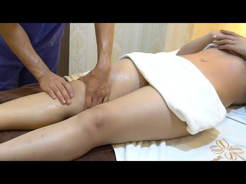 How to Massage Techniques Foot & Hands Reflexology at Luxury Spa | Healing Massage