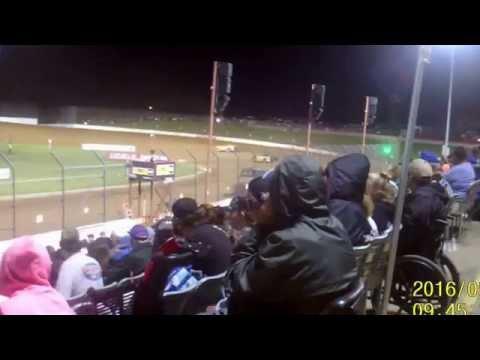 Lucas Oil Speedway Show Me 100 Cowboy Classic B feature 3  5 26 16