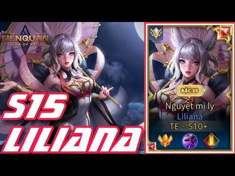 TOP 1 LILIANA | Mãn Nhãn Trận Đấu Đỉnh Cao Càn Quét Team Địch Rank 9x Cực Gắt | Liliana S15