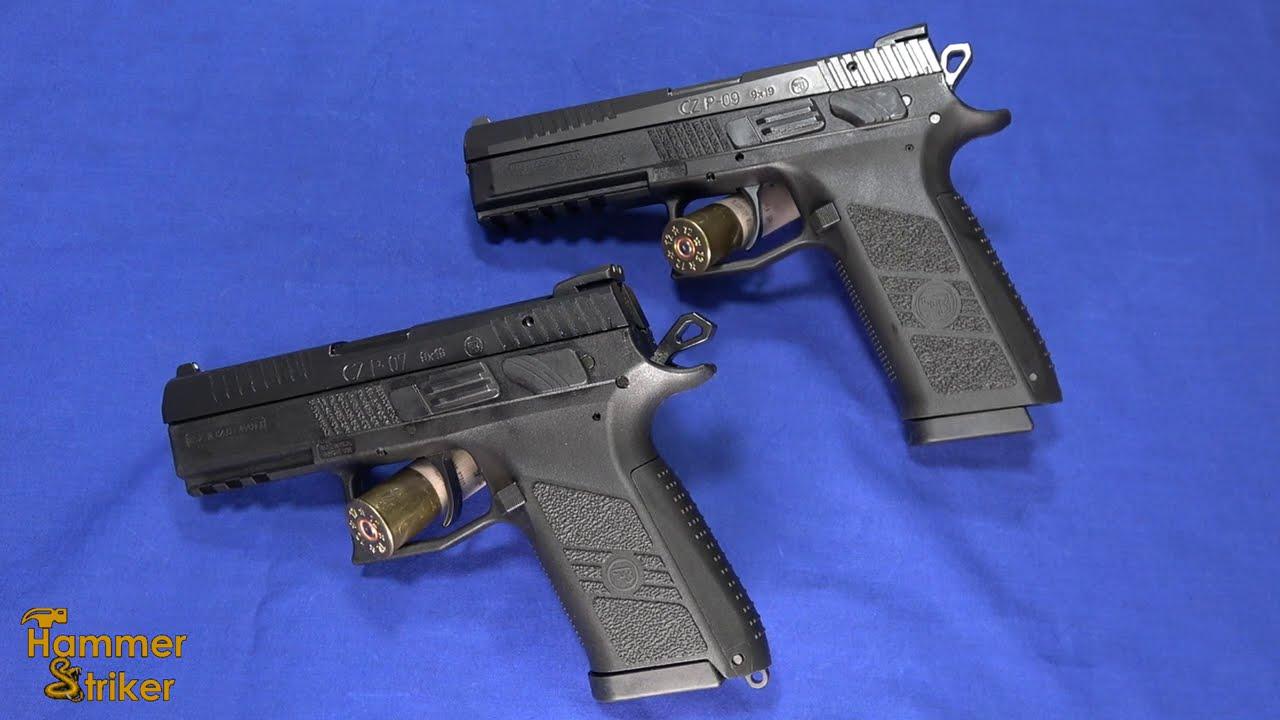 You Asked, We Compare: CZ P-07 vs CZ P-09