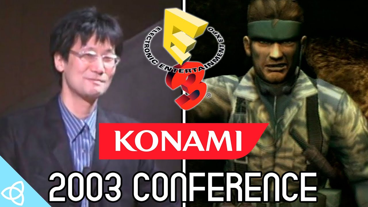 Konami E3 2003 Press Conference Highlights