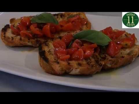 "Olive Oil Enteka's recipe ""Bruschetta"""