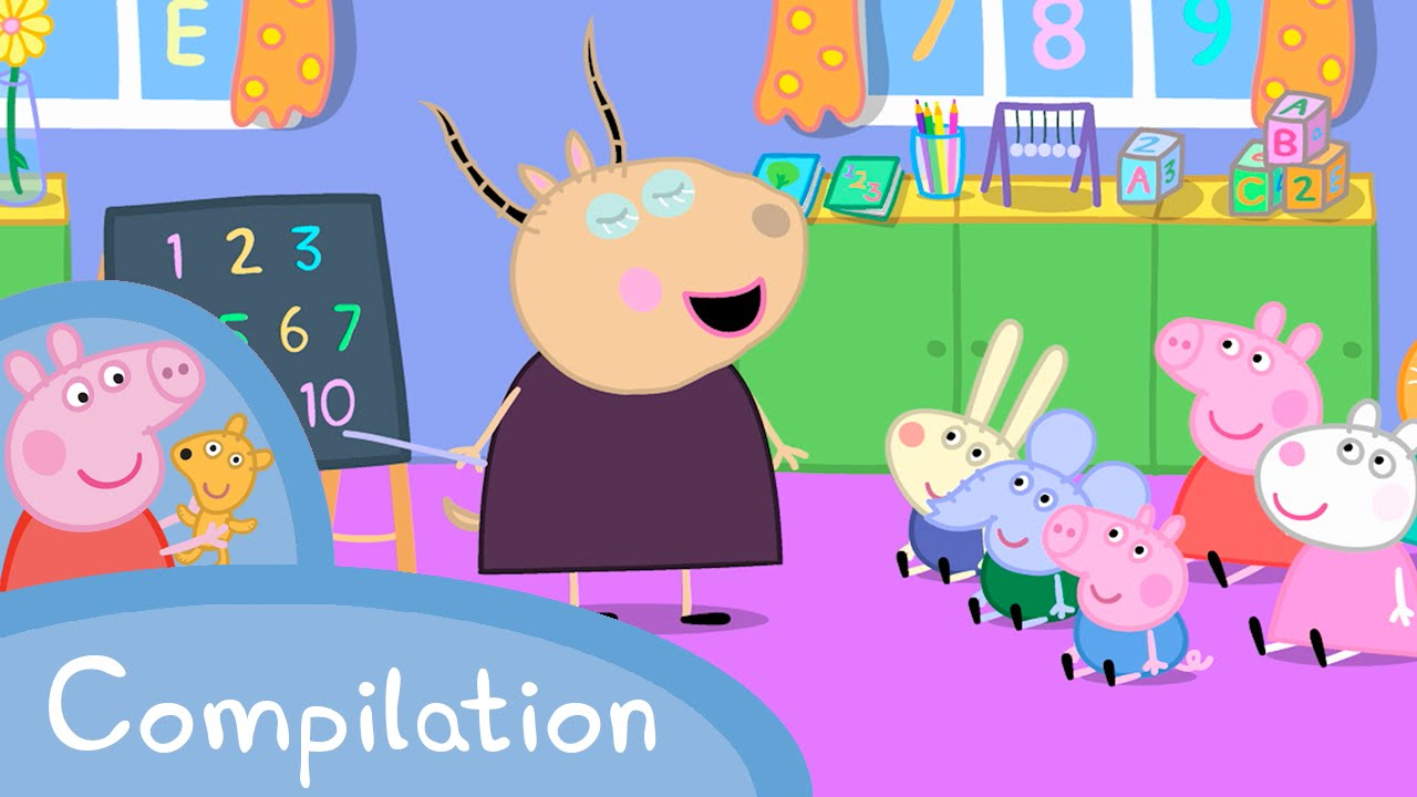 d8721f3174a4 Peppa Pig Episodes - Learn with Peppa compilation Peppa Pig Official ...