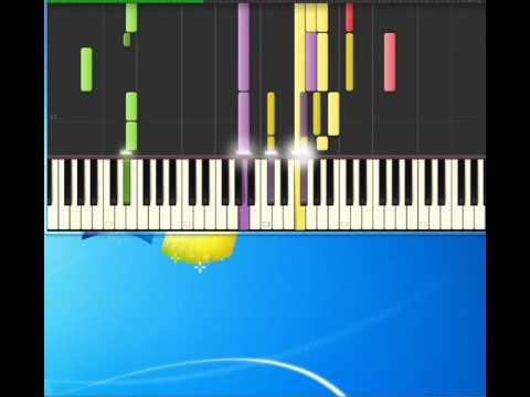 Robbie DepreeSteal away [Piano tutorial by Synthesia]