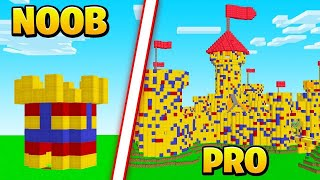 MINECRAFT Build The BEST CASTLE Challenge!