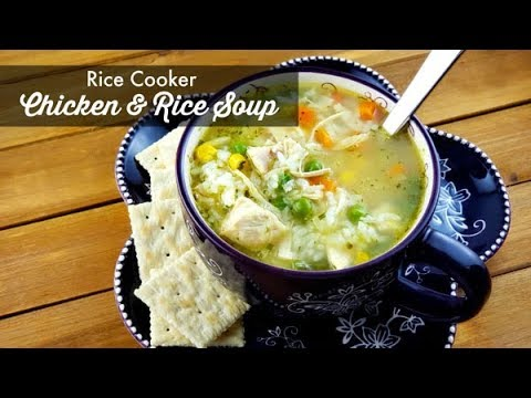 rice-cooker-chicken-and-rice-soup-|-how-to-cook-rice-in-a-comfee-rice-cooker-|-easy-soup-recipe