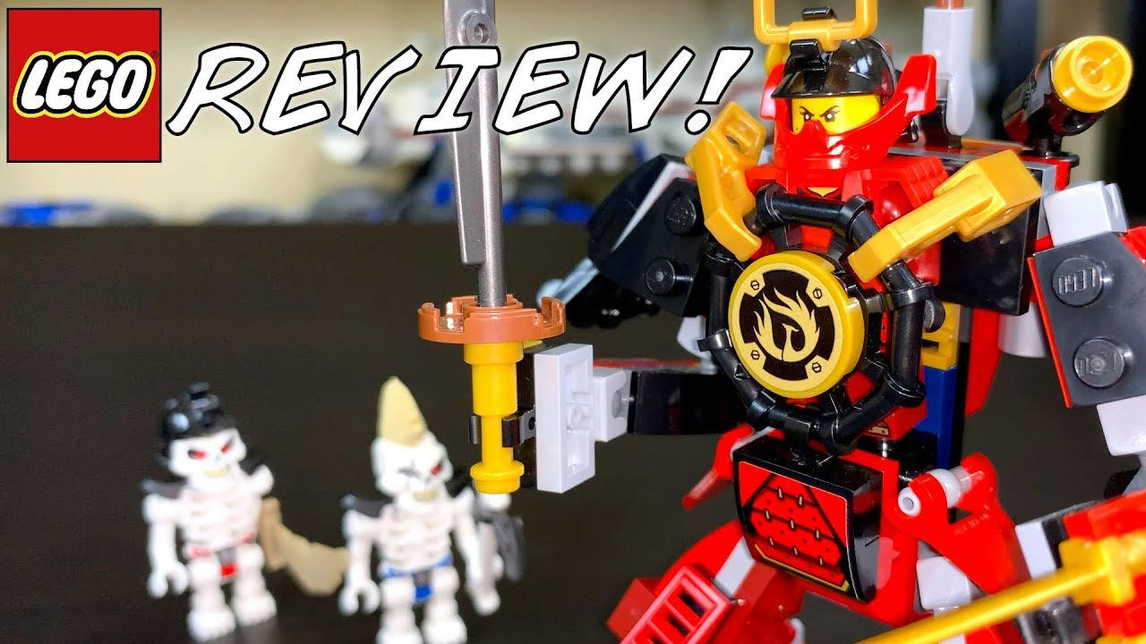 LEGO Ninjago Legacy The Samurai Mech Season One 154 Pieces 70665 New NIB