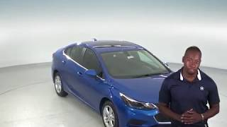 183119 - New, 2018, Chevrolet Cruze, LT, Sedan, Blue, Test Drive, Review, For Sale -