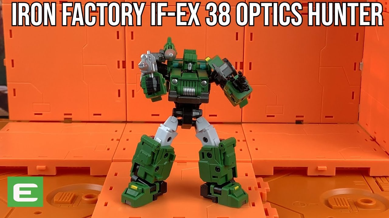 Iron Factory IF-EX 38 Optic Hunter (Hound) unboxing and Review by Enewtabie