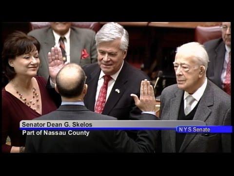 Senate Majority Leader Dean Skelos' Oath of Office - January 7, 2015