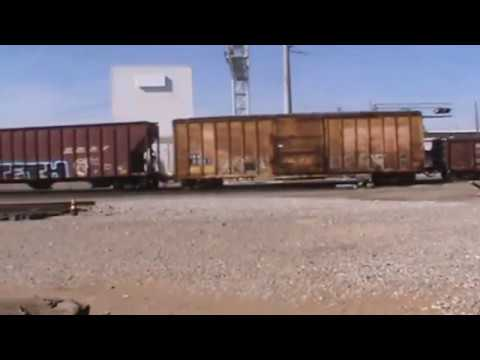 BNSF General Freight Tulsa, OK 11/6/16 vid 6 of 10