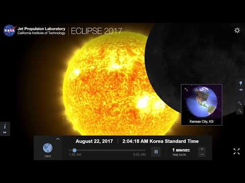 Missed The Solar Eclipse? NASA Made a Simulation For You