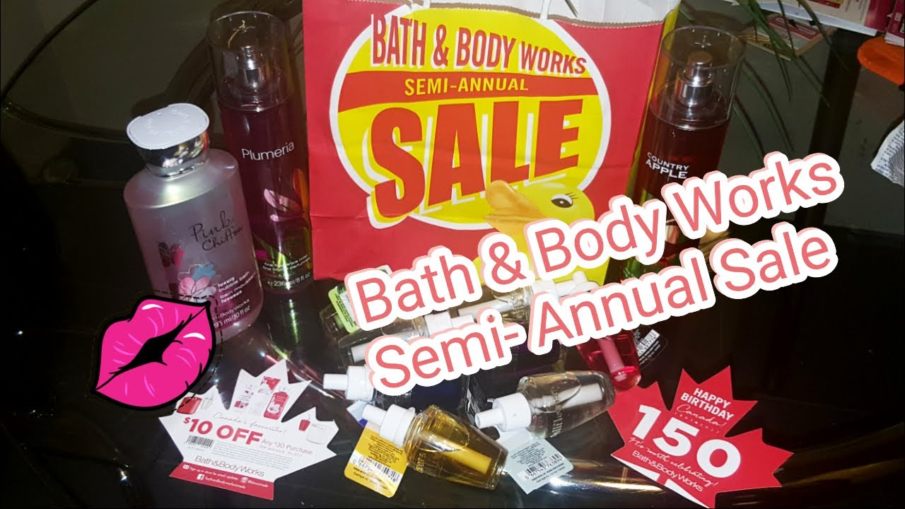 Bath & Body Works Semi-Annual Sale Haul 2017 #welovesale ...