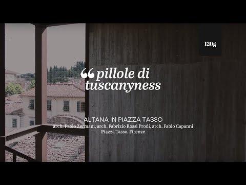 Pills of Tuscanyness - Altana in Piazza Tasso (Paolo Zermani, Fabrizio Rossi Prodi, Fabio Capanni)