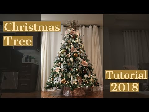 How to Decorate Your Christmas Tree in 7 Simple Steps/Christmas Tree Tutorial
