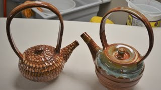 How to throw and trim a teapot…