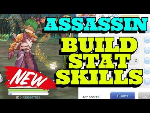 BUILD Assassin STAT SKILL | Ragnarok Mobile Eternal Love