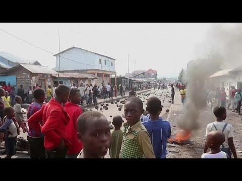 Strike over civilian massacres brings DR Congo's east to a halt