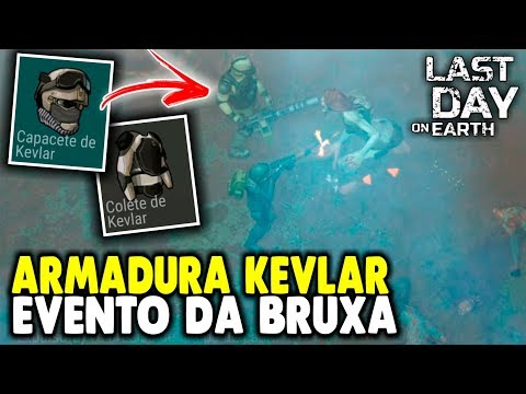 Armadura Kevlar de Titanio Evento da Bruxa - Last Day On Earth