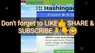 Het Maken van HASHINGADSPACE ACCOUNT TAGALOG TUTORIAL/HOW om ADVERTENTIES weer TE geven IN HASHINGADSPACE.