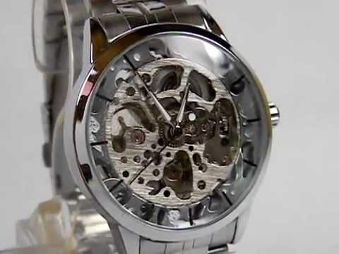 a33febdcb43 Relógio Automático Esqueleto - YouTube
