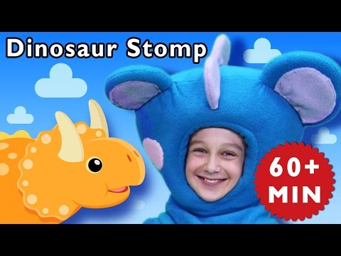 D Is for Dinosaur | Dinosaur Stomp and More | Baby Songs from Mother Goose Club!