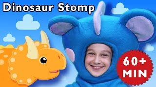 D Is For Dinosaur  Dinosaur Stomp And More  Baby Songs From Mother Goose Club!