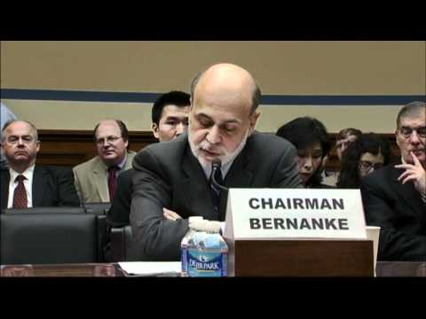 Bernanke Says Risk From Europe Has Eased